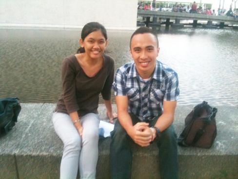 With my interviewee, Kuya Lou
