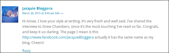 Thank you so much Jacquie :)